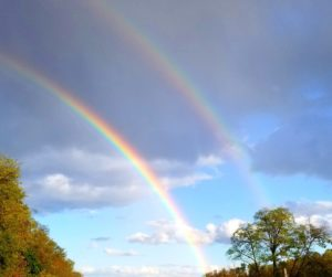 double rainbow for mother