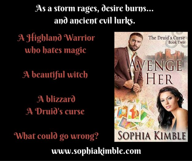 A Highland Warrior who hates magic. A Witch who desires    him. A blizzard and a curse. What could go wrong-
