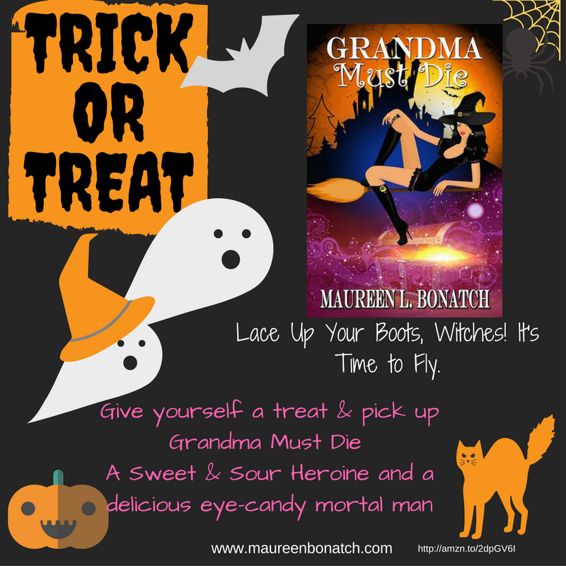 Halloween, witches, treat