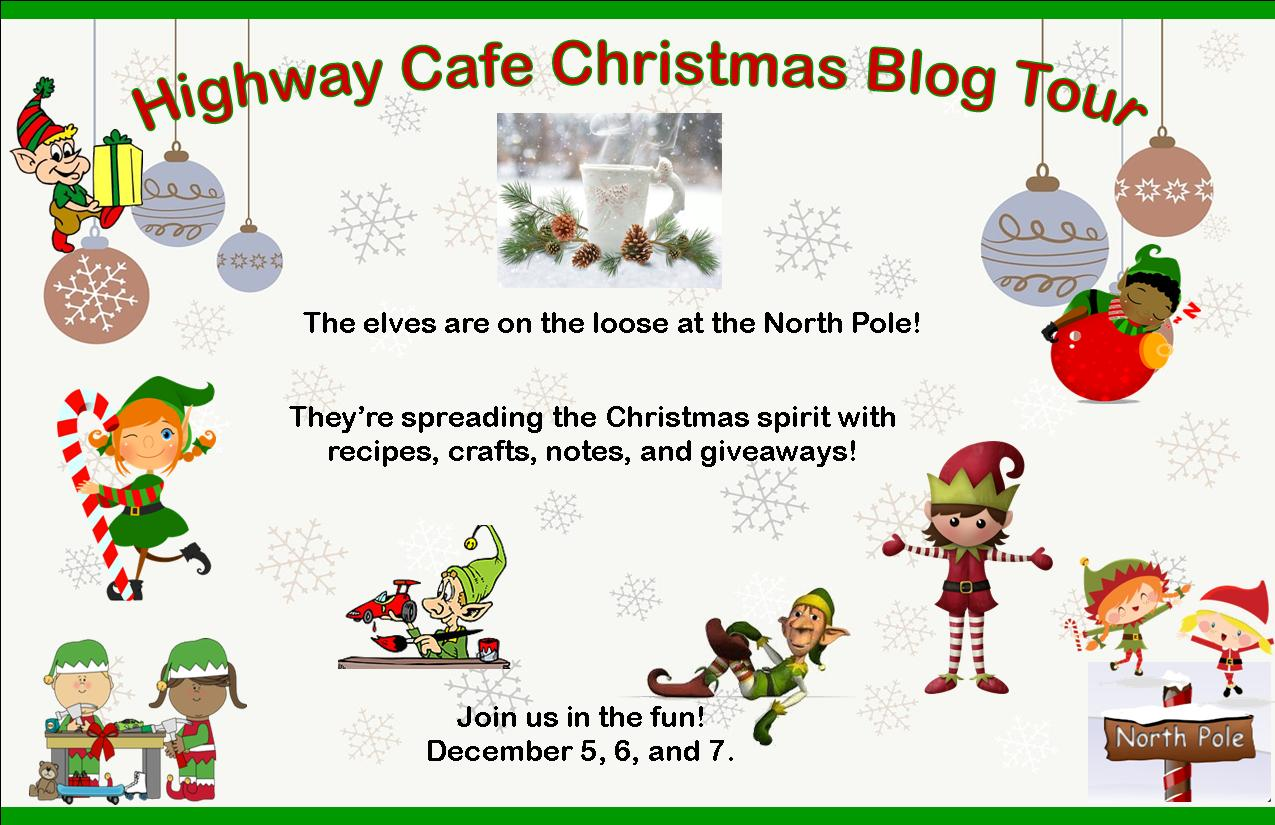 Christmas Cafe Blog Tour