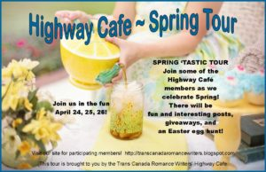 Blog Tour Highway Cafe