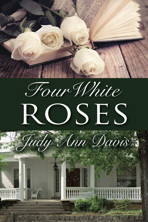 Judy Ann Davis guest with book Four White Roses