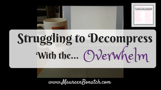 Recharge while being overwhelmed