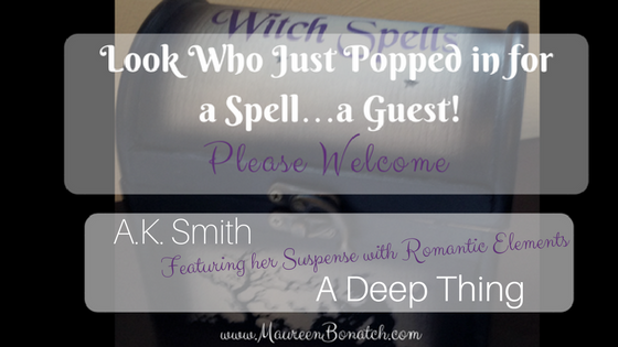 author A.K. Smith A Deep Thing