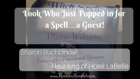 Guest Author Sharon Buchbinder