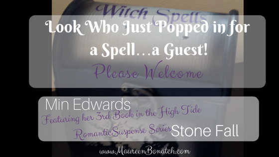 Author Min Edwards Stone Fall